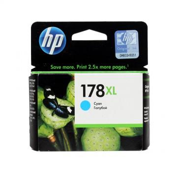 CB323HE HP 178XL Cyan оригинальный струйный картридж HP голубой, ресурс - 750 страниц