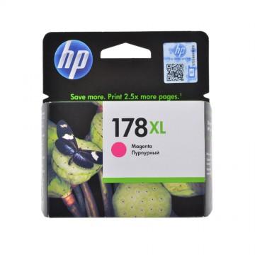 CB324HE HP 178XL Magenta оригинальный струйный картридж HP пурпурный, ресурс - 750 страниц