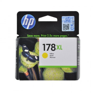 HP 178 XL Yellow | CB325HE оригинальный струйный картридж - желтый, 750 стр