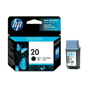 HP 20 Black | C6614DE оригинальный струйный картридж - черный, 325 стр