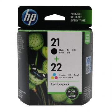HP 21 + 22 Black + Color | SD367AE оригинальный струйный картридж - черный + цветной, 190 стр