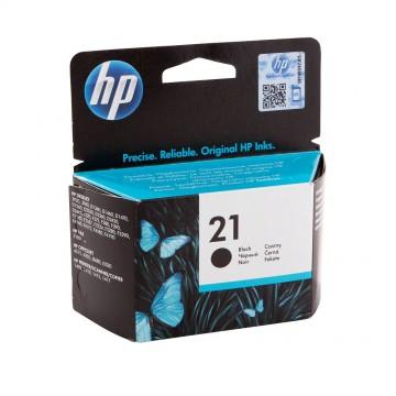 C9351AE HP 21 оригинальный струйный картридж HP чёрный, ресурс - 190 страниц