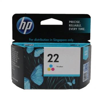 C9352AE HP 22 оригинальный струйный картридж HP цветной, ресурс - 165 страниц