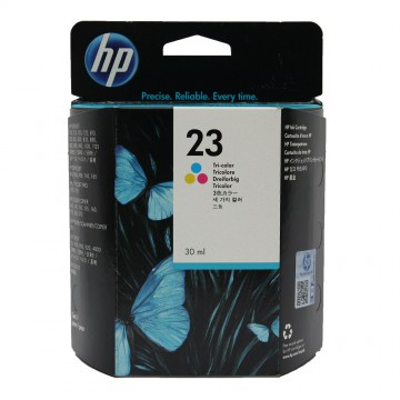 HP 23 Color | C1823D оригинальный струйный картридж - цветной, 360 стр