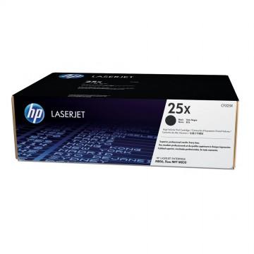 CF325X HP 25X оригинальный лазерный картридж HP чёрный, ресурс - 34500 страниц