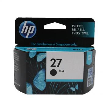 C8727AE HP 27 оригинальный струйный картридж HP чёрный, ресурс - 280 страниц