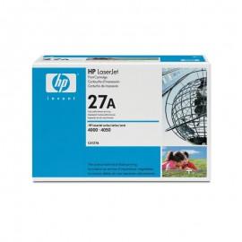 C4127A HP 27A Оригинальный лазерный картридж HP чёрный, ресурс - 6000 страниц