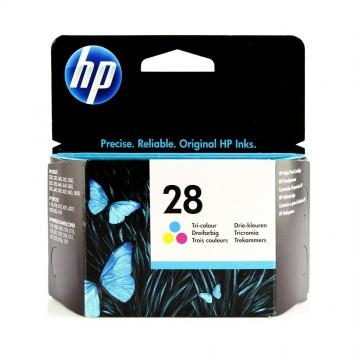 C8728AE HP 28 оригинальный струйный картридж HP цветной, ресурс - 240 страниц