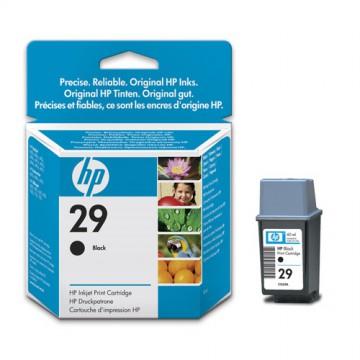 51629AE HP 29 Оригинальный струйный картридж HP чёрный, ресурс - 650 страниц