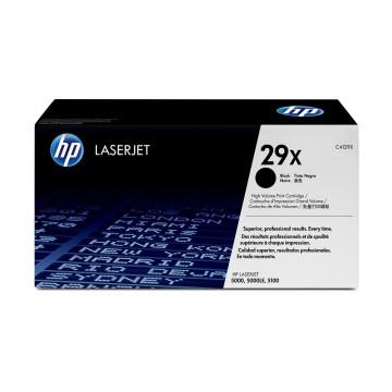C4129X HP 29X оригинальный лазерный картридж HP чёрный, ресурс - 10000 страниц