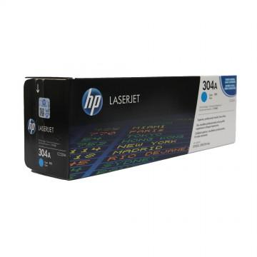 CC531A HP 304A оригинальный лазерный картридж HP голубой, ресурс - 2800 страниц