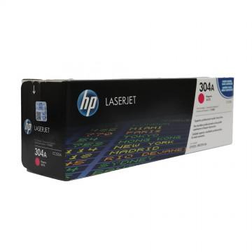 CC533A HP 304A оригинальный лазерный картридж HP пурпурный, ресурс - 2800 страниц