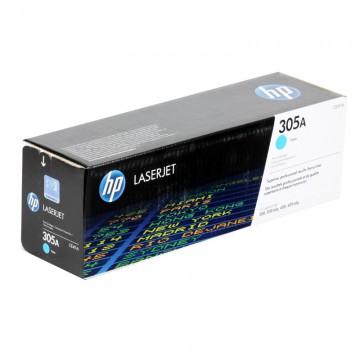 CE411A HP 305A оригинальный лазерный картридж HP голубой, ресурс - 2600 страниц