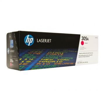 CE413A HP 305A оригинальный лазерный картридж HP пурпурный, ресурс - 2600 страниц