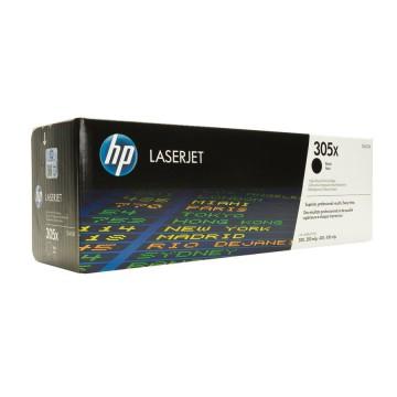 CE410X HP 305X оригинальный лазерный картридж HP чёрный, ресурс - 4000 страниц