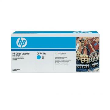 HP 307A Cyan | CE741A оригинальный лазерный картридж - голубой, 7300 стр