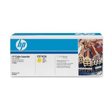 HP 307A Yellow | CE742A оригинальный лазерный картридж - желтый, 7300 стр