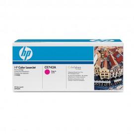 307A Magenta | CE743A оригинальный лазерный картридж HP, 7300 стр., пурпурный