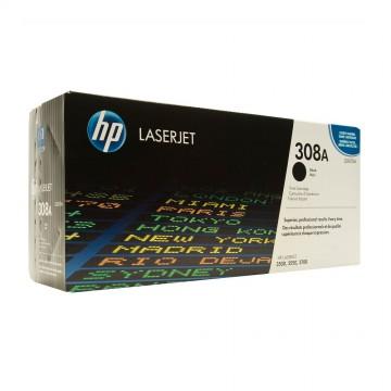 Q2670A HP 308A оригинальный лазерный картридж HP чёрный, ресурс - 6000 страниц