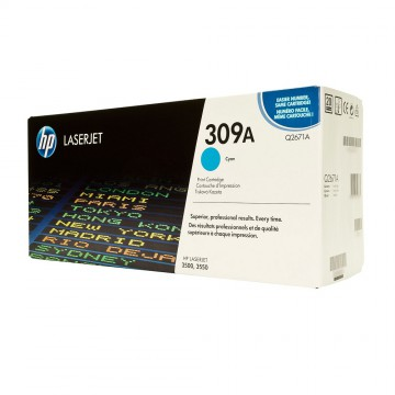 Q2671A HP 309A оригинальный лазерный картридж HP голубой, ресурс - 4000 страниц