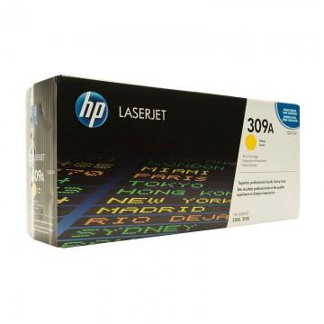 HP 309A Yellow | Q2672A оригинальный лазерный картридж - желтый, 4000 стр