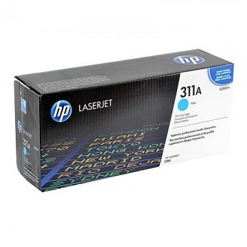 Q2681A HP 311A оригинальный лазерный картридж HP голубой, ресурс - 6000 страниц