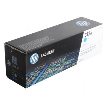 HP 312A Cyan | CF381A оригинальный лазерный картридж - голубой, 2700 стр