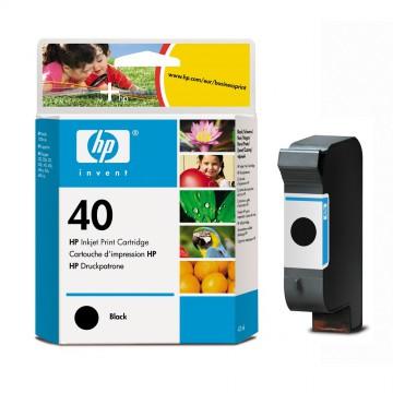 51640AE HP 40 оригинальный струйный картридж HP чёрный, ресурс - 1100 страниц