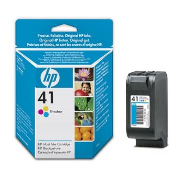 51641AE HP 41 оригинальный струйный картридж HP цветной, ресурс - 460 страниц