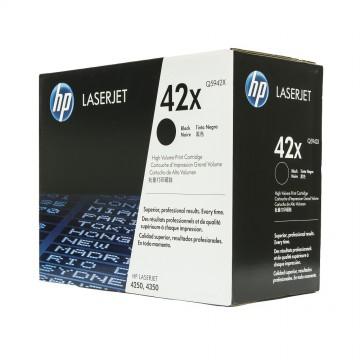 HP 42X Black | Q5942X оригинальный лазерный картридж - черный, 20000 стр