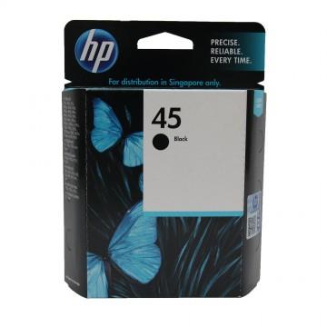 51645AE HP 45 оригинальный струйный картридж HP чёрный, ресурс - 800 страниц