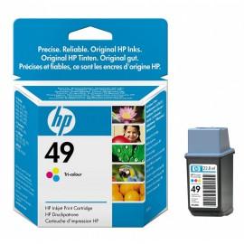 Уценка! 49 Color | 51649AE (HP) струйный картридж - 310 стр, цветной