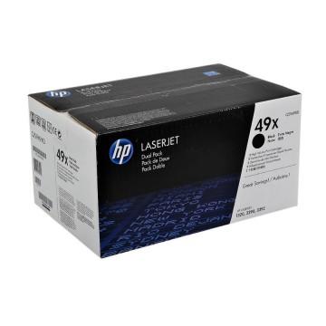 HP 49X D Black | Q5949XD оригинальный лазерный картридж - черный, 2 x 6000 стр