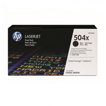 HP 504X Black | CE250X оригинальный лазерный картридж - черный, 10500 стр