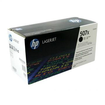 CE400X HP 507X оригинальный лазерный картридж HP чёрный, ресурс - 11000 страниц