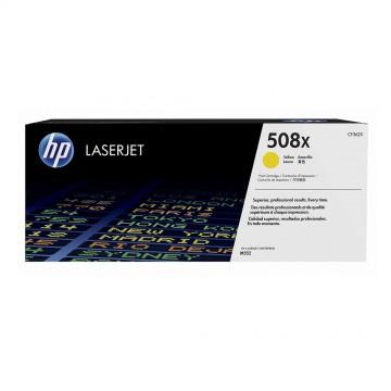 HP 508X Yellow | CF362X оригинальный лазерный картридж - желтый, 9500 стр