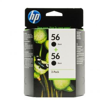 C9502AE HP 56 + 56 оригинальный струйный картридж HP чёрный, ресурс - 2*450 страниц