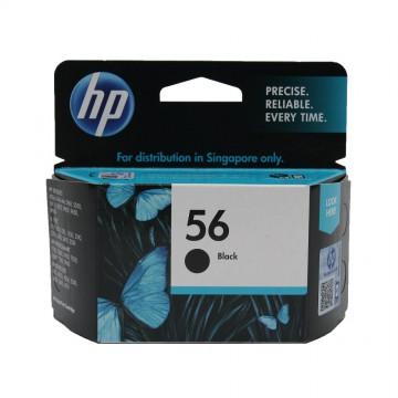 C6656AE HP 56 оригинальный струйный картридж HP чёрный, ресурс - 450 страниц
