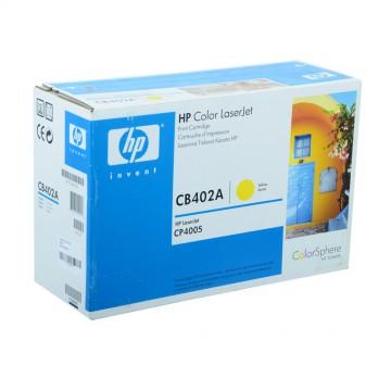 CB402A HP 642A оригинальный лазерный картридж HP жёлтый, ресурс - 7500 страниц