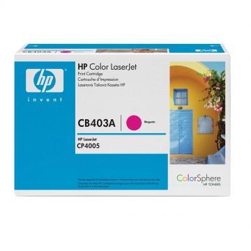CB403A HP 642A оригинальный лазерный картридж HP пурпурный, ресурс - 7500 страниц