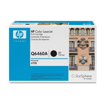 HP 644A Black | Q6460A оригинальный лазерный картридж - черный, 12000 стр