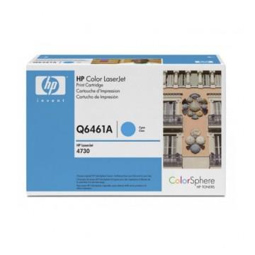 Q6461A HP 644A оригинальный лазерный картридж HP голубой, ресурс - 12000 страниц