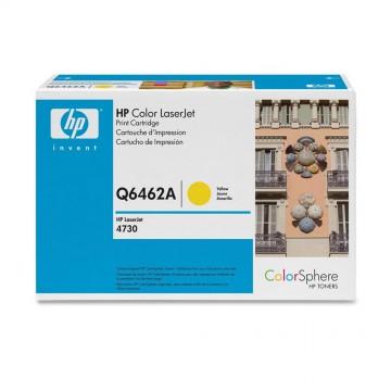 HP 644A Yellow | Q6462A оригинальный лазерный картридж - желтый , 12000 стр