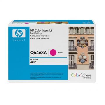 HP 644A Magenta | Q6463A оригинальный лазерный картридж - пурпурный , 12000 стр