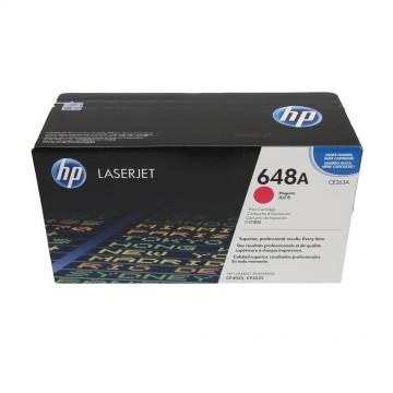 CE263A HP 648A оригинальный лазерный картридж HP пурпурный, ресурс - 11000 страниц