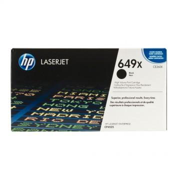 CE260X HP 649X оригинальный лазерный картридж HP чёрный, ресурс - 17000 страниц