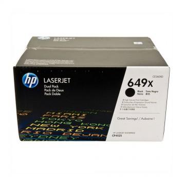HP 649X D Black | CE260XD оригинальный лазерный картридж - черный, 2 x 17000 стр