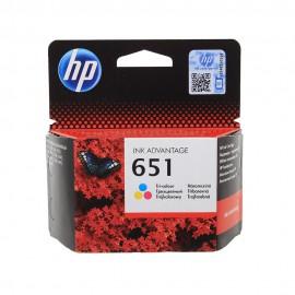 651 Color | C2P11AE (HP) струйный картридж - 300 стр, цветной