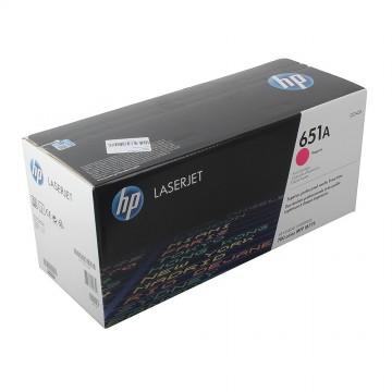 CE343A HP 651A оригинальный лазерный картридж HP пурпурный, ресурс - 16000 страниц