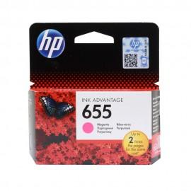 CZ111AE HP 655 Magenta оригинальный струйный картридж HP пурпурный, ресурс - 600 страниц
